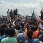 Sunday Igboho Joins For Yoruba Nation Protesters in Osun