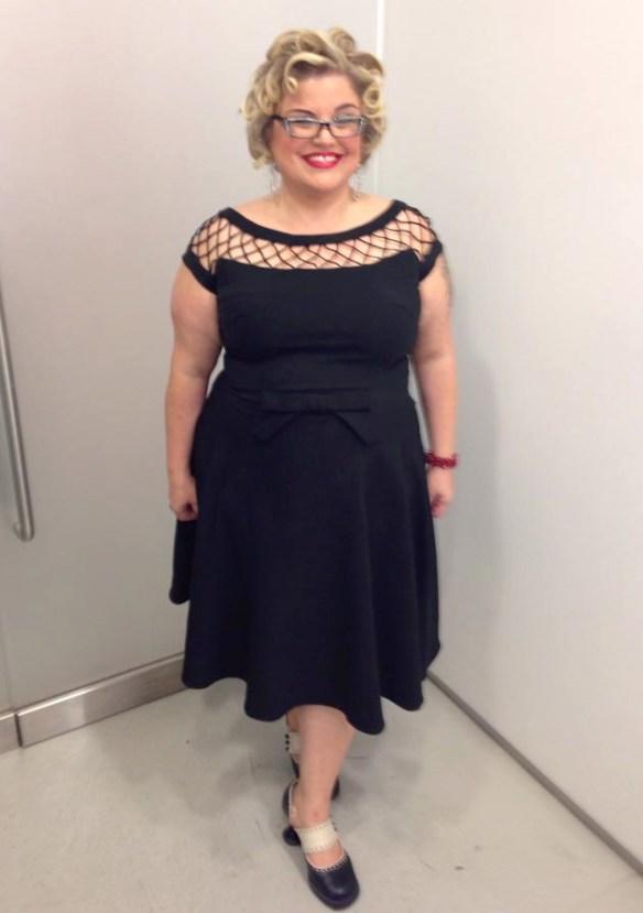 Dress: Bettie Paige - 4X Shoes: Flurvog