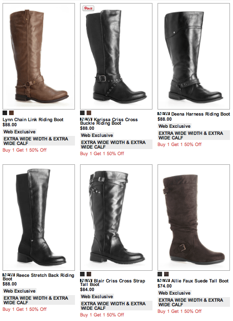 5 Stores That Have Extra Wide Calf Boots! - Affatshionista