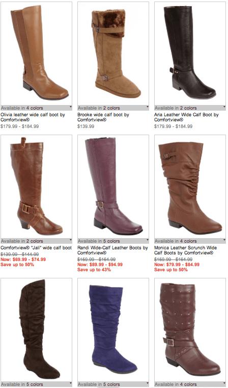 519818aadb0 Jessica London Comfortview Extra Wide Calf Boots
