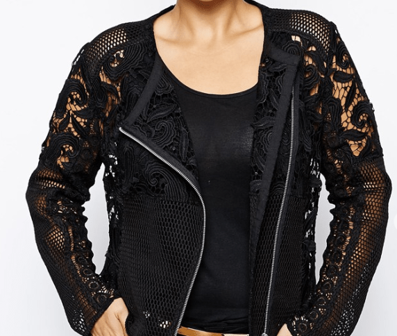 asos photo of lace jacket
