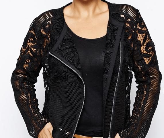 asos photo of lace jacket