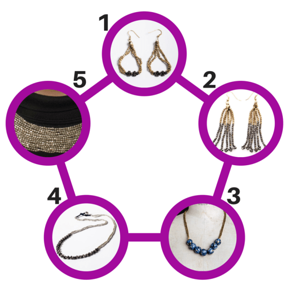 Zindi.com Handcrafted  Jewelry