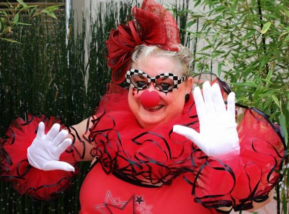 DIY Plus Size Clown Costume