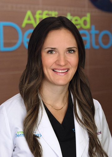 Kristen Mitchell, NP affiliated dermatology