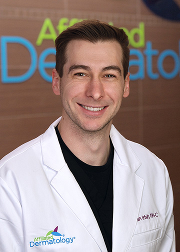 Dylan Irish, PA-C affiliated dermatology