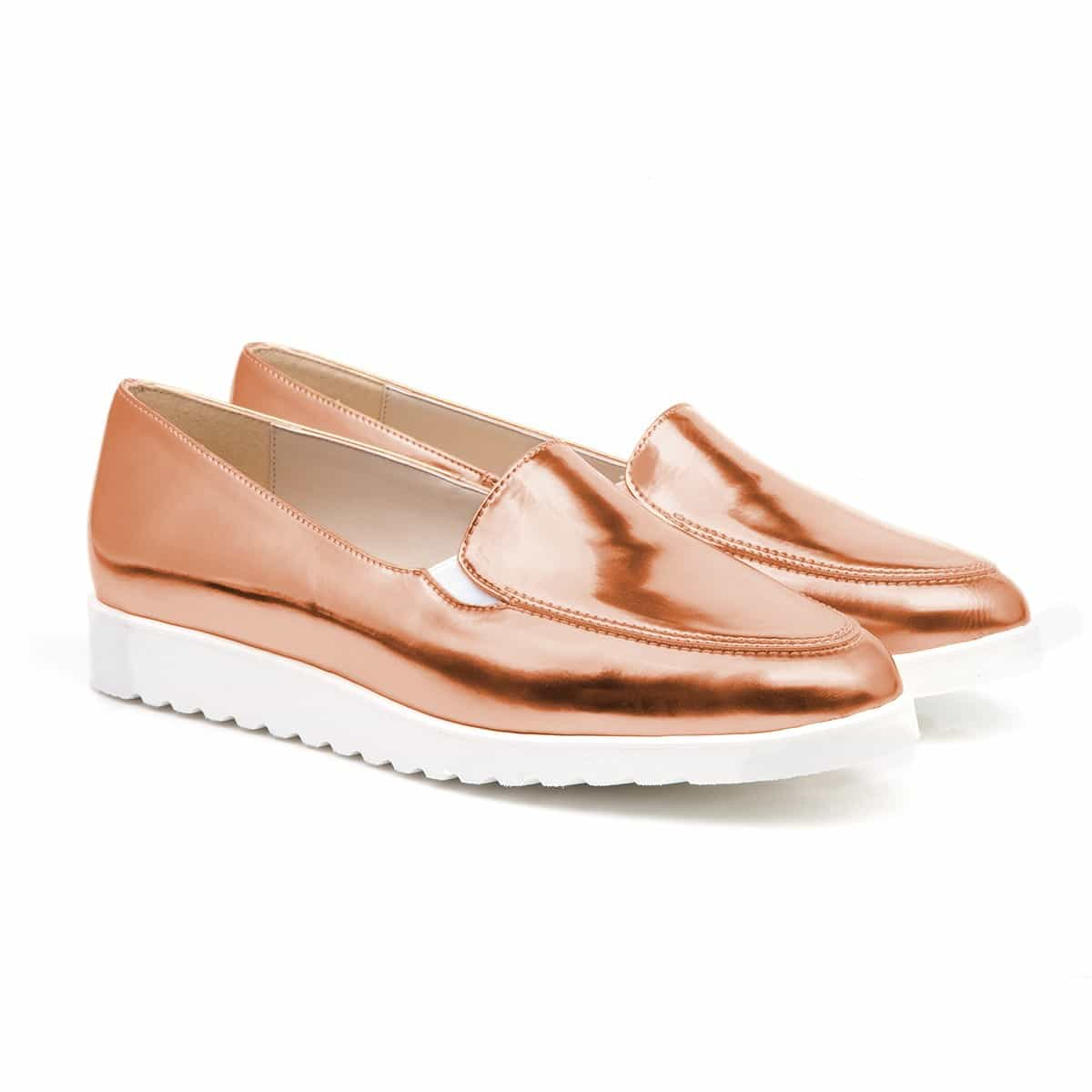 ROSE GOLD CHARLIE PUMPS à 89€ de chez Beyond Skin : http://www.beyondskin.co.uk/womens/charlie-rose-gold-pumps.html