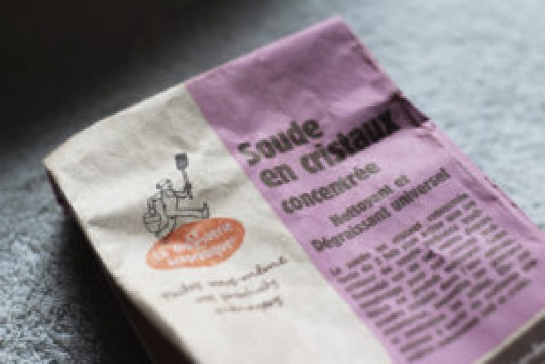 Photo d'un sachet de cristaux de soude #lessive #homemade