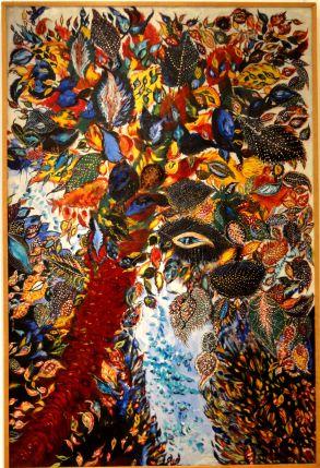 Senlis_(60),_musée_d'art_et_d'archéologie,_Séraphine_Louis,_L'arbre_de_Paradis_(1928-30)