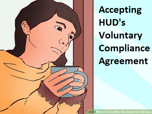 accepting HUDs Voluntary Compliance Agreement