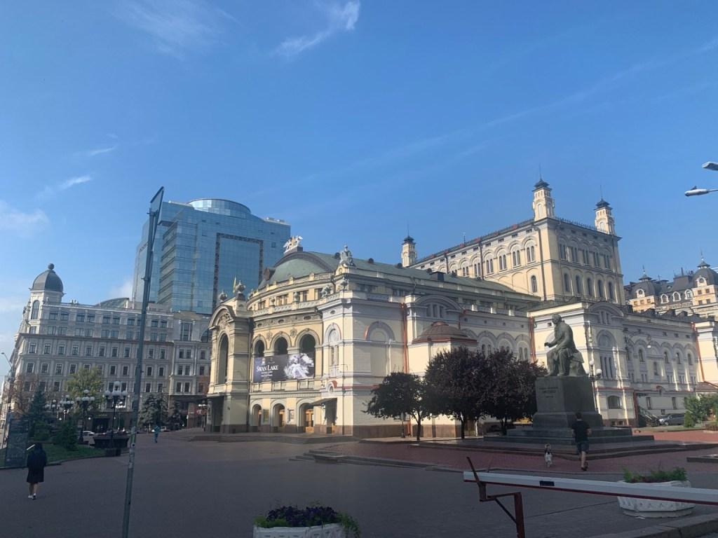 ウクライナ・キエフの街並み24