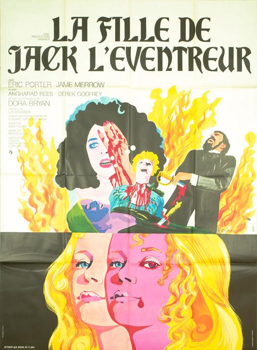 La Fille De Jack L'éventreur : fille, l'éventreur, Fille, L'éventreur, Affiche-Cine