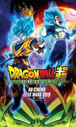 affiche du film Dragon ball Super Broly 2 avec les protagonistes du film