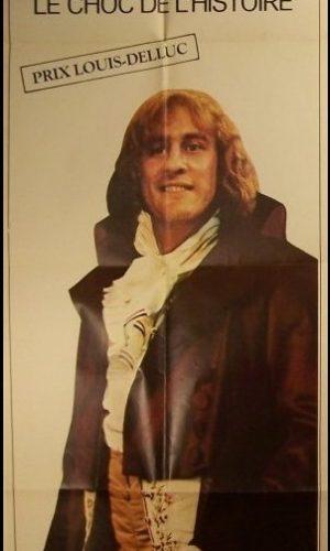 affiche du film Danton format pantalon avec Gérard Depardieu.