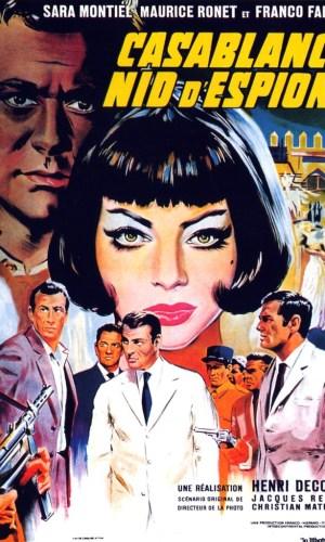 affiche film Casablanca Nid d'espions