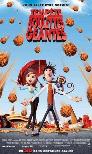 Affiche du film Tempête de boulette géante