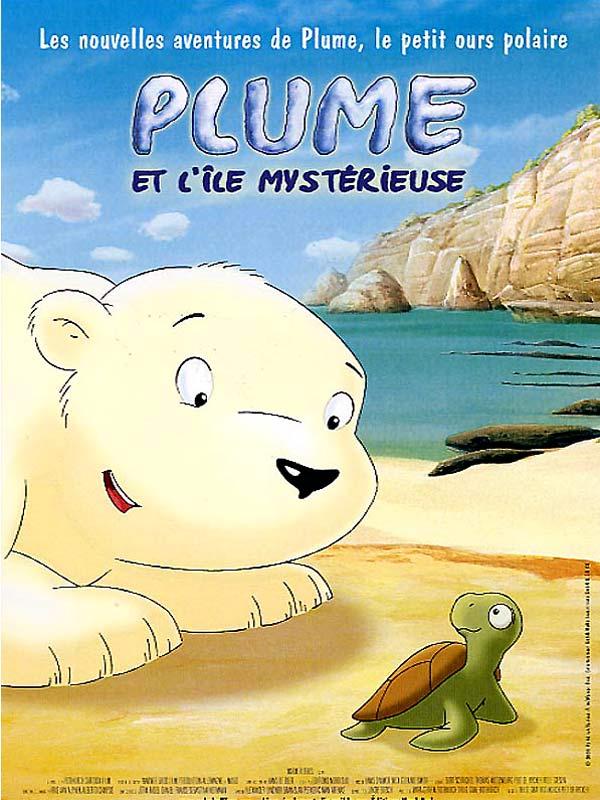 Affiche du dessin animé Plume , le petit ours polaire