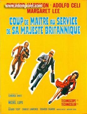 affiche du film deCoup, de maitre au service de sa Majesté