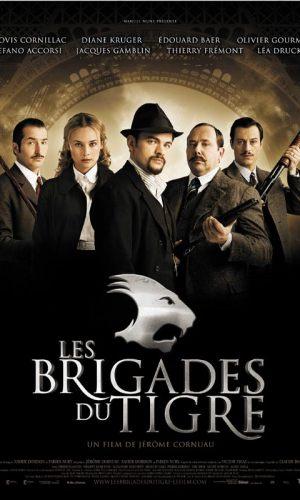 Affiche de cinéma Les brigades du tigre