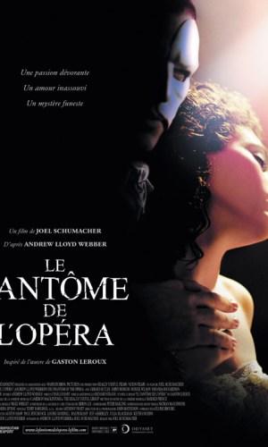 affiche du film Le fantôme de l'Opéra