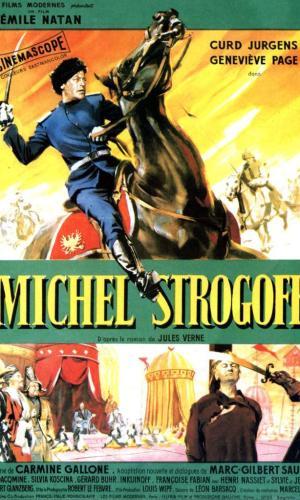 Affiche de cinéma Michel Strogoff