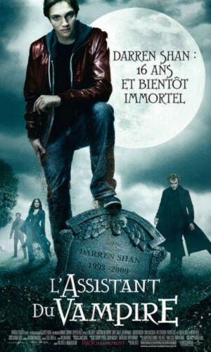 Affiche de cinéma L'assistant du vampire