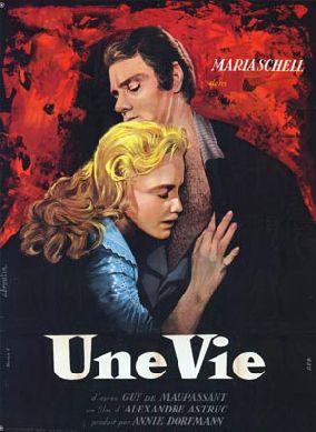Affiche de cinéma Une vie