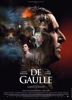 Affiche de cinéma De Gaulle
