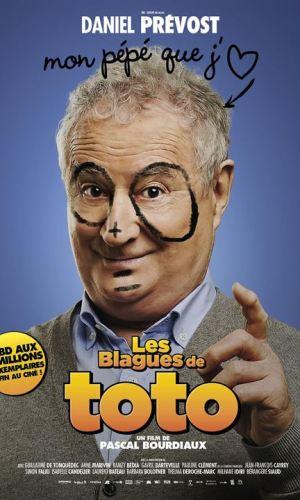 Affiche de cinéma Les blagues de Toto