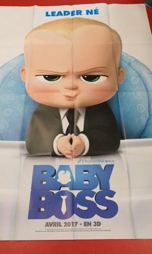 Affiche de cinéma Baby boss