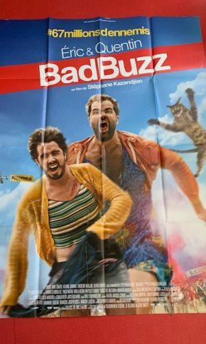 Affiche de cinéma Bad buzz
