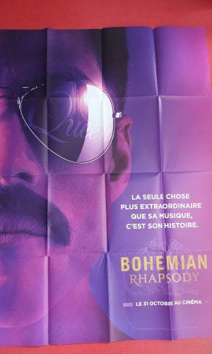 Affiche de cinema Bohémian Rhapsody