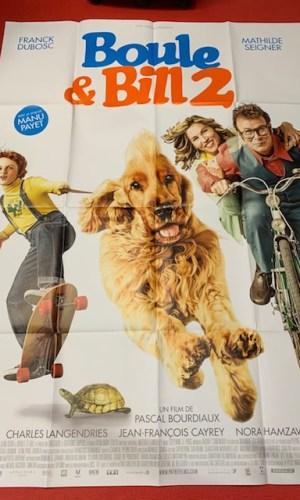 Affiche de cinéma Boule et Bill2