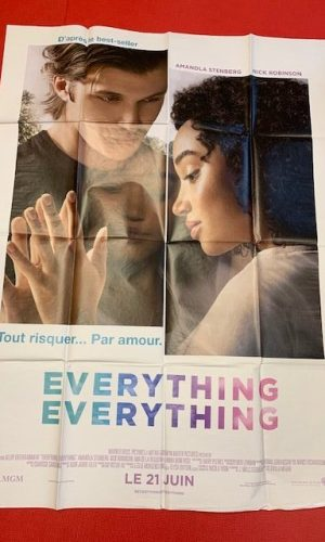 Affiche de cinéma Everything, Everything