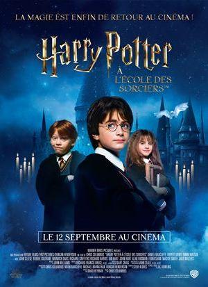 Affiche de cinéma Harry Potter à l'ecole des sorciers