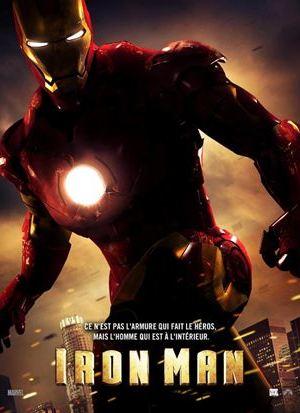 Affiche de cinéma Iron man