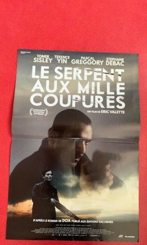 Affiche de cinéma Le serpent aux mille coupures