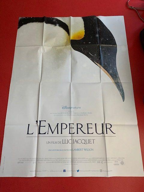 Affiche de cinéma L'empereur