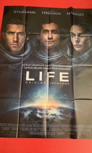 Affiche de cinéma Life origine inconnue