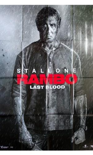 Affiche de cinéma Rambo last blood