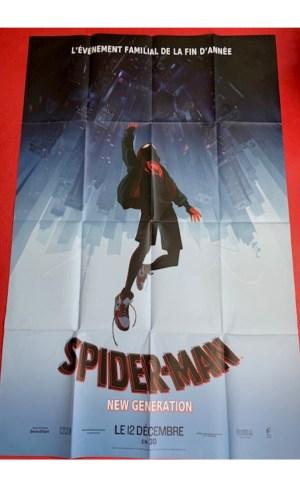 Affiche de cinéma Spider man New génération