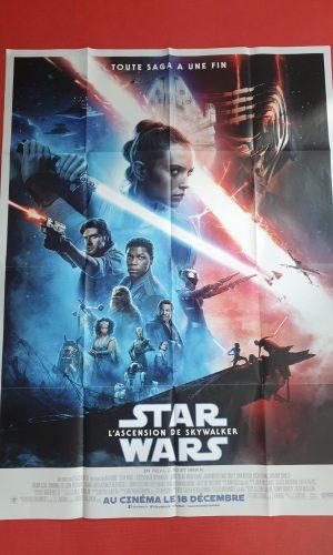 Affiche Star Wars, l'ascension de Skywalker