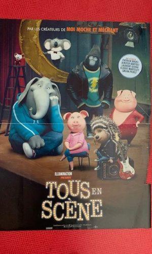 Affiche de cinéma Tous en scène