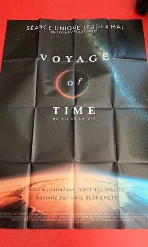 Affiche de cinéma Voyage of time