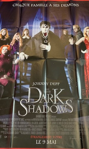 Affiche de cinéma Dark Shadows