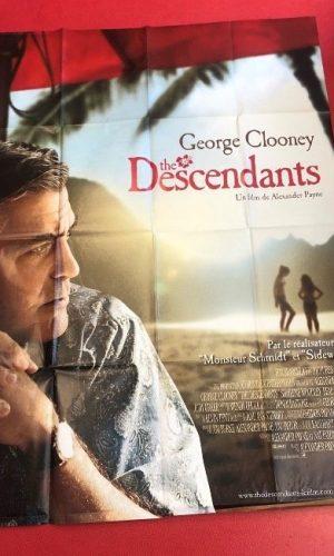 """Affiche du film """"The Descendants"""" avec George Clooney"""