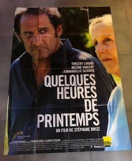"""Affiche du film """"Quelques heures de printemps"""" (2012)"""