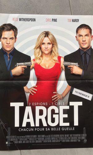 affiche du film target, 2012