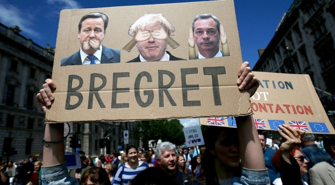 Death of Brexit: Return from the Right