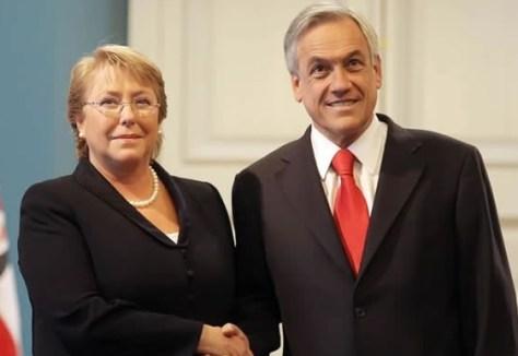 Bachelet Pinera